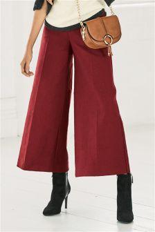 Wide Crop Trousers