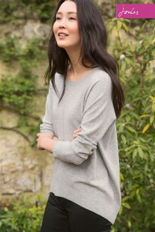 Joules Elliptical Hem Crew Neck Knit