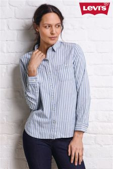 Levi's® Indigo Verbena Good Workwear Boyfriend Shirt