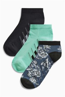 Tech Trainer Socks Three Pack
