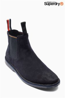 Superdry Navy Chelsea Boot