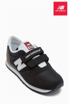 New Balance Black 420 Velcro Trainer