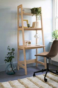 Malvern Oak Ladder Desk