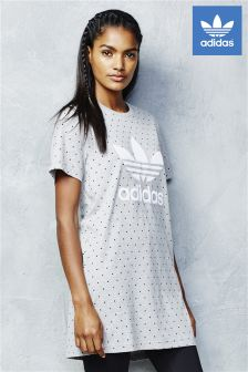 adidas Originals Grey Spot Boyfriend Tee