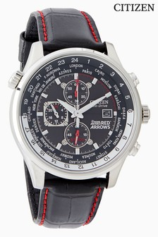 Black Citizen Eco Drive® Red Arrows Chronograph  Watch