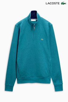 Lacoste® Teal 1/4 Zip Sweat