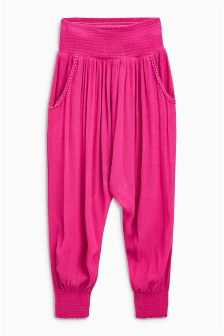 Pom Pom Pocket Trousers (3-16yrs)