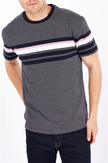 Jacquard Stripe T-Shirt