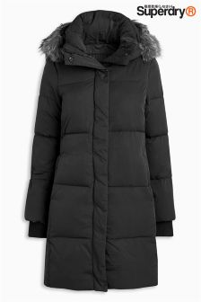 Superdry Graphite Cocoon Parka