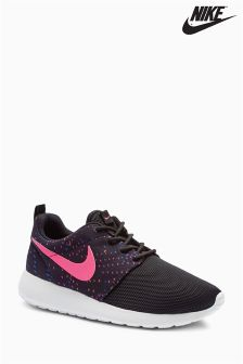 Nike Black And Pink Roshe 1
