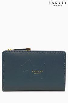 Radley Dark Teal Radley Shadow Medium Zip Top Purse
