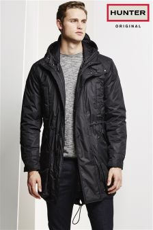 Hunter Original Insulated Waterproof Black Parka
