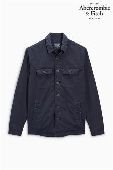 Abercrombie & Fitch Navy Shacket