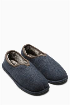Notch Close Back Slipper
