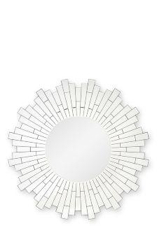 Large Facet Wheel Mirror