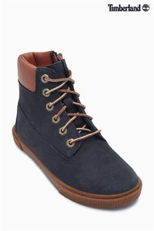 "Timberland® Navy Groveton 6"" Boot"