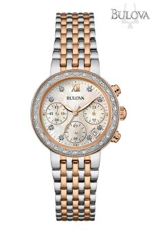Ladies Bulova Two Tone Watch