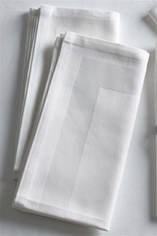 Set Of 4 Collection Luxe Napkins
