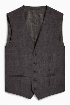 Signature Textured Waistcoat