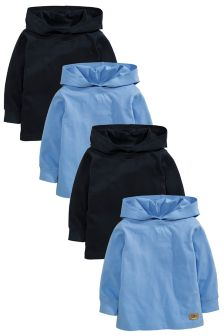 Long Sleeve Hoodies Four Pack (3mths-6yrs)