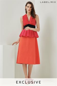 Mix/Isa Arfen Colourblock Dress