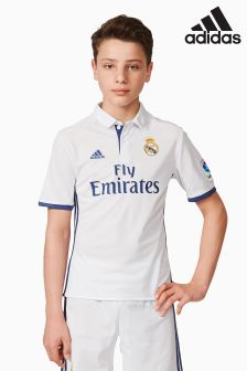 adidas Real Madrid 2016/17 Home Replica Jersey