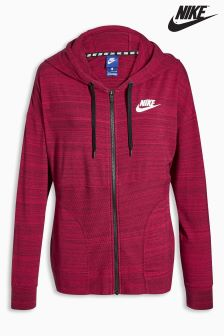 Nike Red AV15 Knit Hoody