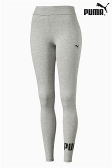 Puma® Grey Essential Logo Legging