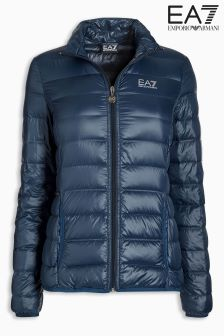 Emporio Armani EA7 White Down Jacket