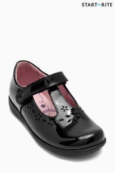 Start-Rite Black Patent Charlotte Shoe