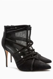Mesh Cage Shoe Boots