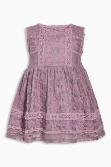 Lace Dress (3mths-6yrs)