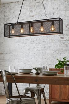 Mesh 5 Light Linear Pendant