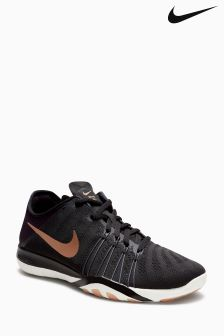 Nike Black/Metallic Free Trainer 6