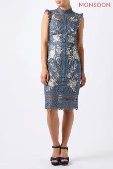 Monsoon Blue Karina Dress