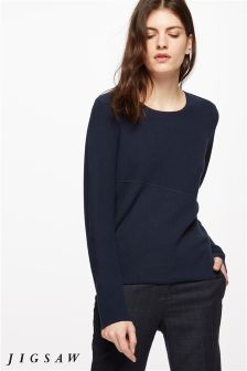 Jigsaw Ink Rib Knit