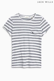 Jack Wills Stripey Boyfriend Tee