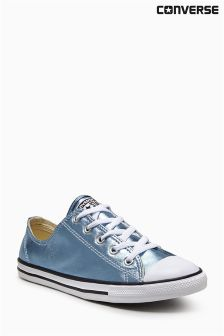 Converse Metallic Blue Chuck Taylor All Star Dainty