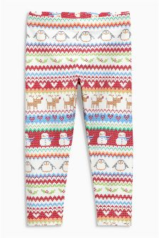 Fairisle Print Legging (3mths-6yrs)