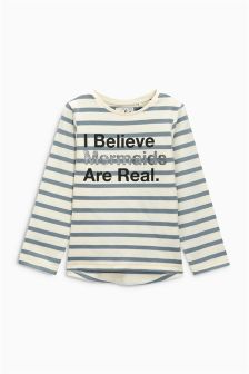 Mermaid Slogan T-Shirt (3mths-6yrs)