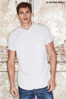 G-Star Grey Landoh Short Sleeve Shirt