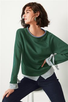 Mock Layer Sweater