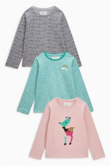 Character T-Shirt Three Pack (3mths-6yrs)