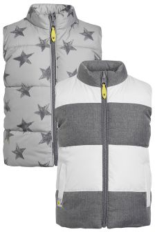 Reversible Gilet (3mths-6yrs)