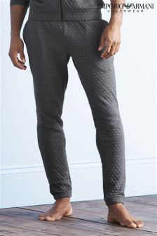 Armani Quilted Effect Loungewear Pant