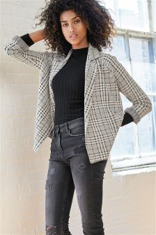 Brushed Dogtooth Jacket