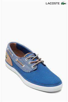 Lacoste® Blue Jouer Deck Shoe