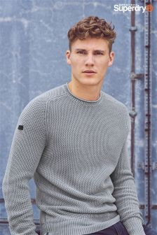 Superdry Textured Knit Jumper