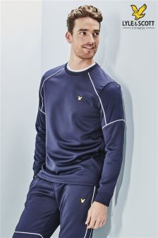 Lyle & Scott Performance Navy Lewis Crew