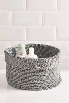 Medium Knitted Basket